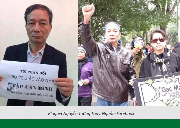 Hình minh hoạ. Nhà báo, blogger Nguyễn Tường Thuỵ