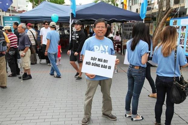 Nhà hoạt động Châu Văn Khảm
