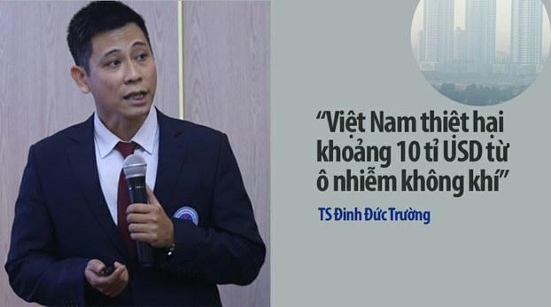 Ô nhiễm không khí có thể khiến Việt Nam thiệt hại trên 10 tỉ USD mỗi năm