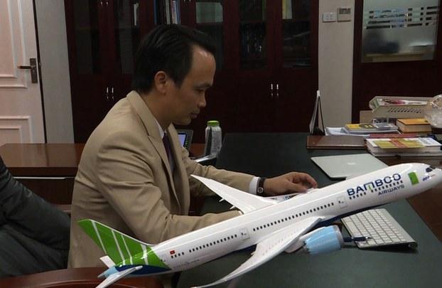 Ông Trịnh Văn Quyết chủ tịch tập đoàn FLC, chủ sở hữu hãng hàng không Bamboo Airways.