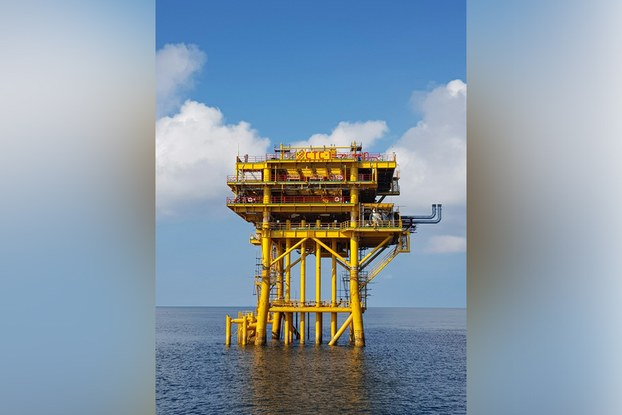 Giàn khai thác CTC1-WHP được khởi công chế tạo từ tháng 3/2018, là hạng mục quan trọng nhất trong Dự án phát triển khai thác mỏ Cá Tầm thuộc Lô 09-3/12.