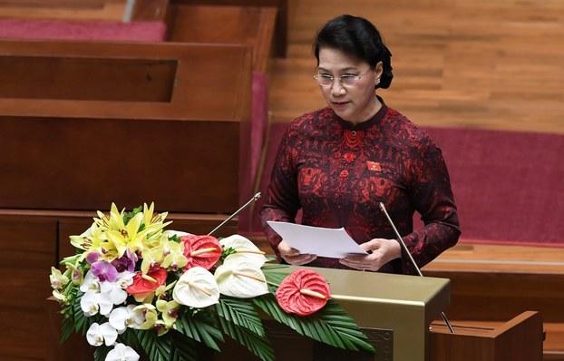 Chủ tịch Quốc hội Việt Nam, bà Nguyễn Thị Kim Ngân