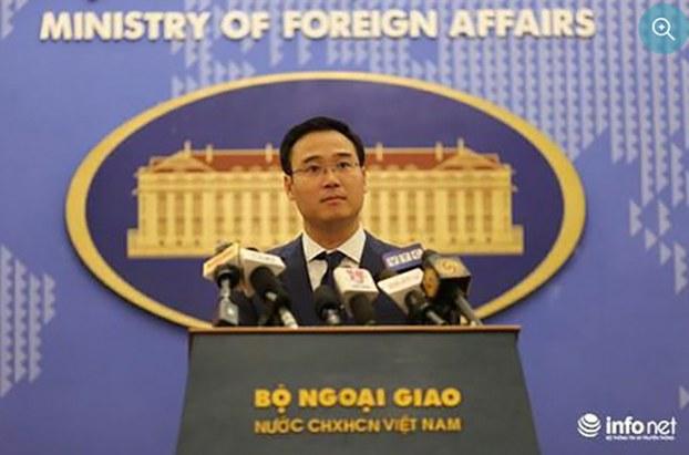 Phó phát ngôn Bộ Ngoại giao Việt Nam Ngô Toàn Thắng.